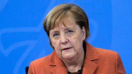 """""""Mich haben die Bilder wütend und auch traurig gemacht"""", sagte Angela Merkel über die Ausschreitungen in den USA."""