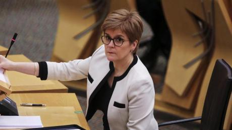 Die schottische Regierungschefin Nicola Sturgeon will ein Referendum erreichen.