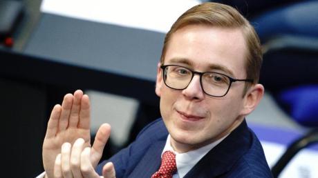 Philipp Amthor ist CDU-Spitzenkandidat in Mecklenburg-Vorpommern für die Bundestagswahl.