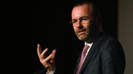 Manfred Weber: «Manche Regierungschefs diskreditieren heute EU-Entscheidungen um des schnellen Applauses willen, obwohl sie ihnen oft selbst zugestimmt haben.».