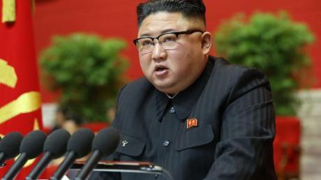 Die Ziele des 2016 aufgestellten Fünf-Jahres-Entwicklungsplans seien «in fast allen Bereichen» verfehlt worden, sagt Kim Jong Un.