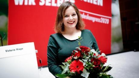 Die neue Juso-Bundesvorsitzende Jessica Rosenthal.