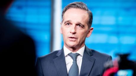 Außenminister Heiko Maas (SPD) hatte einen «Marshallplan für Demokratie» vorgeschlagen.