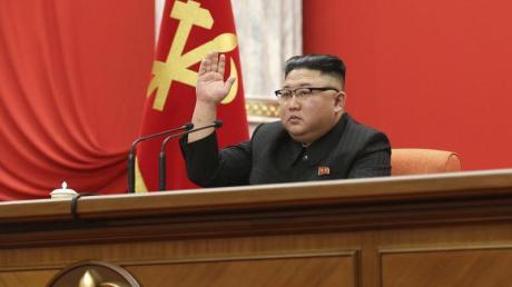 Zuletzt Parteivorsitzender, jetzt Generalsekretär: Kim Jong Un bleibt unangefochten Nordkoreas Machthaber.
