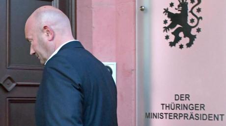 Thüringens Kurzzeit-Ministerpräsident Thomas Kemmerich (Archiv). Die für den 25. April anvisierte Neuwahl des Thüringer Landtages steht wegen der Corona-Pandemie auf der Kippe.