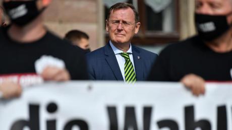 Bodo Ramelow (Die Linke), Ministerpräsident von Thüringen. Angesichts hoher Corona-Infektionszahlen wird die Neuwahl des Thüringer Landtages verschoben.