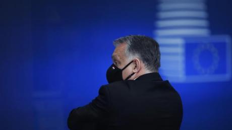 Ungarns Ministerpräsident Viktor Orban verlässt den Gipfel der EU-Staats- und Regierungschefs im vergangenen Dezember.