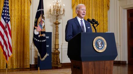 Präsident Joe Biden verteilt Streicheleinheiten für die transatlantische Seele. Per Video war er am Freitag zur virtuellen Münchner Sicherheitskonferenz zugeschaltet.