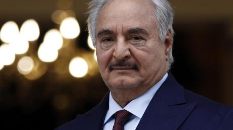 Der lybische Warlord Chalifa Haftar soll von einem Trump-Unterstützer beraten worden sein, so die UN.