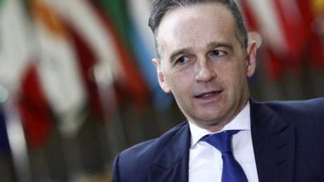 Heiko Maas (SPD), Bundesaußenminister, hat China, Russland und andere Länder wegen Verstößen gegen die Menschenrechte angeprangert.