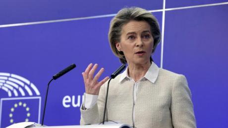 EU-Kommissionspräsidentin Ursula von der Leyen ermahnt die deutsche Bundesregierung.