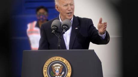US-Präsident Joe Biden warnt aufgrund der Corona-Mutationen vor einem Anstieg der Fallzahlen.