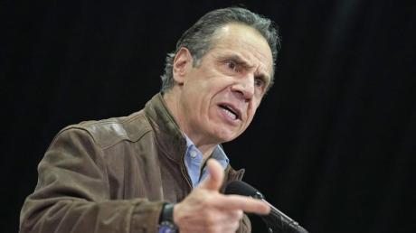 «Ich habe nie jemanden unangemessen berührt», sagt New Yorks Gouverneur Andrew Cuomo.