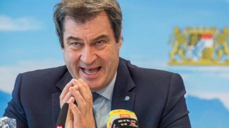 Bayerns Ministerpräsident Markus Söder weist Öffnungsforderungen aus Hotspots zurück.