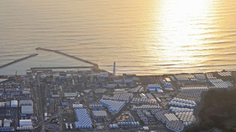 Das Atomkraftwerk Fukushima Daiichi. Am 11. März 2011 trat hier nach einem starken Erdbeben Radioaktivität aus.
