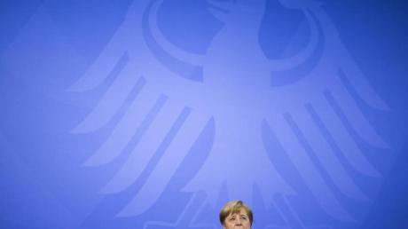 Bundeskanzlerin Angela Merkel. Der Impfgipfel mit der Kanzlerin wird verschoben.