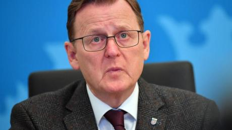 Thüringens Ministerpräsident Bodo Ramelow erntet für seinen kontroversen Tweet Kritik.