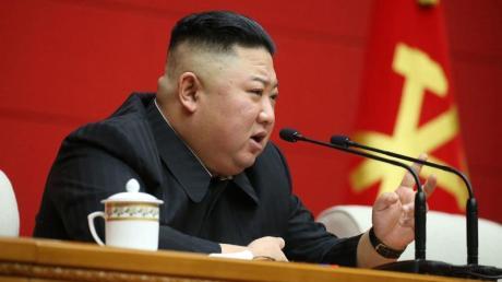 Nordkoreas Machthaber Kim Jong Un ist einer der Hauptfeinde für Joe Biden.