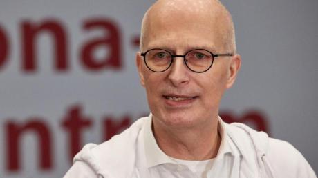 Peter Tschentscher (SPD), Erster Bürgermeister von Hamburg, befindet sich in Isolation.