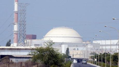 Das iranische Atomkraftwerk Buschehr.