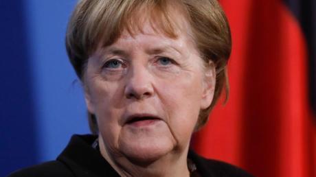 «Forderung nach einem kurzen einheitlichen Lockdown richtig»: Kanzlerin Merkel steht einer Sprecherin zufolge hinter einer Idee von CDU-Chef Laschet - zumindest indirekt.