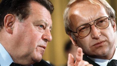 Franz Josef Strauß (links) und Edmund Stoiber traten 1980 und 2002 erfolglos für die Union an.