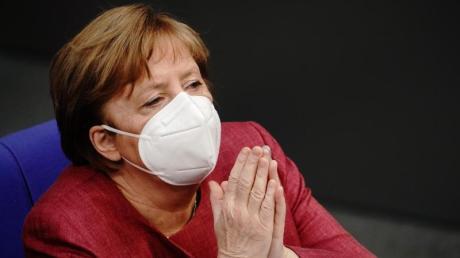 Bundeskanzlerin Merkel hat ihre erste Schutzimpfung gegen das Coronavirus erhalten.