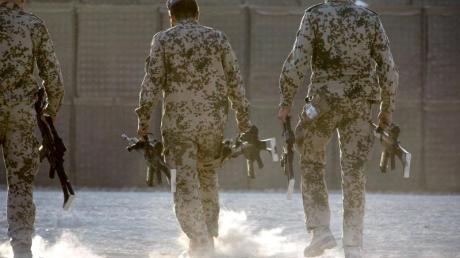 Bundeswehrsoldaten in Afghanistan.