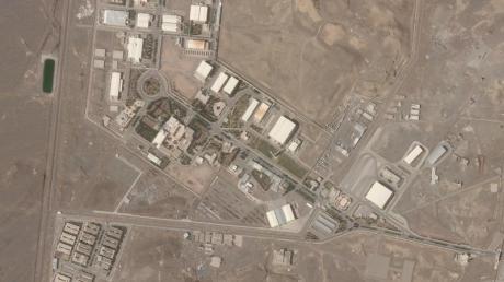 Die iranische Nuklearanlage Natans.