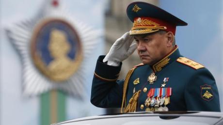 Russlands Verteidigungsminister Sergej Schoigu im Mai 2019 in Moskau.