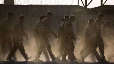Bundeswehrsoldaten in Afghanistan. Nun geht der Einsatz am Hindukusch zuEnde.