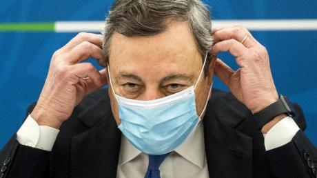 Italiens Ministerpräsident Mario Draghi will das Land mit EU-Milliarden wieder wirtschaftlich auf die Beine stellen.