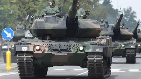 Im vergangenen Jahr stiegen die Militärausgaben weltweit auf mehr als 1,6 Billionen Euro.