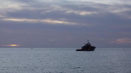 Ein Seenotrettungsschiff vor der Küste von Gran Canaria (Archiv).