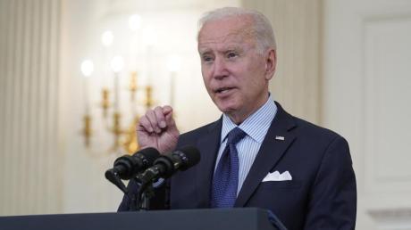 US-Präsidetnt Joe Biden schlägt vor, Patentrechte für Corona-Impfstoffe aufzuheben.