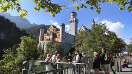 Tourismus in Bayern ist ab Pfingsten wieder möglich - sofern der Inzidenzwert niedrig genug ist.