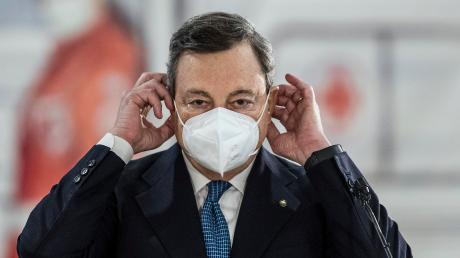 Er gilt in Italien als politische Respektsperson: Mario Draghi, Ministerpräsident. Bei den Menschen steht er für Autorität und Glaubwürdigkeit.