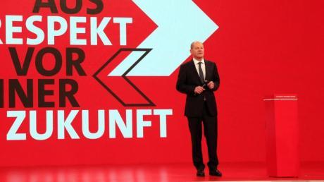 SPD-Kanzlerkandidat Olaf Scholz findet: «Eine weitere von CDU und CSU geführte Regierung wäre ein Risiko für Wohlstand und Arbeitsplätze.».