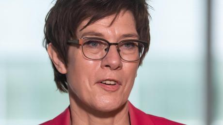Mit dem Abzug der Bundeswehr aus Afghanistan beschäftigt: Ministerin Annegret Kramp-Karrenbauer(CDU).