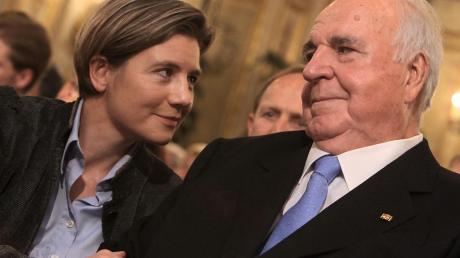 Die Alleinerbin: Maike Kohl-Richter und Helmut Kohl im Jahr 2010.