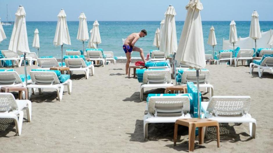 Sonne, Strand, Meer: Die Einreise nach Spanien ist jetzt schon aus allen EU-Staaten möglich - ohne Quarantäne.