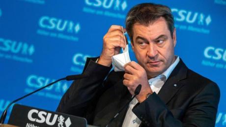 Markus Söder ist bayerischer Ministerpräsident und CSU-Vorsitzender. Vor der Wahl in Sachsen-Anhalt hält er sich bewusst zurück, um den Sieg der CDU nicht zu gefährden.