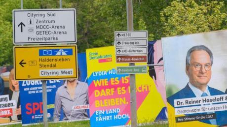Die nächste Koalition in Sachsen-Anhalt wird aller Voraussicht nach sehr bunt.