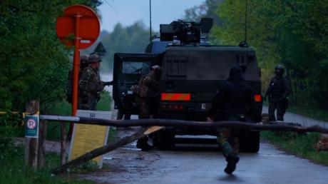 Hunderte Polizisten und Soldaten suchten in Belgien die Wälder nach einem Ex-Berufssoldaten ab.