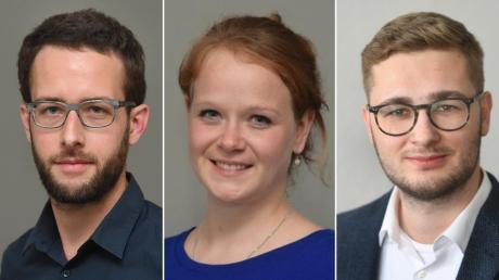 Unsere Autoren: Axel Hechelmann, Christina Heller-Beschnitt und Fabian Huber (von links).