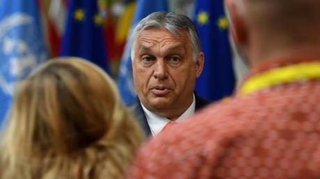Er will das geltende Gesetz keinesfalls wieder zurückziehen: Viktor Orban, Ministerpräsident von Ungarn.