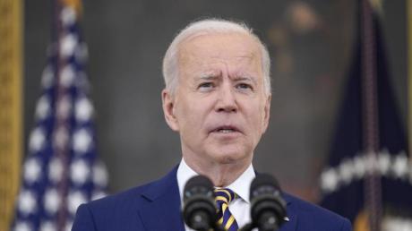 US-Präsident Joe Biden hat die Luftangriffe angeordnet.