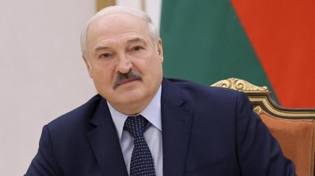 «Sollen sie doch über Finnland ihre Waren nach Russland und China liefern»: Belarus' Machthaber Lukaschenko will denWarenverkehr durch seinLand unterbinden.