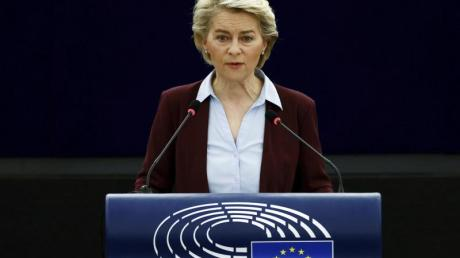 EU-Kommissionspräsidentin Ursula von der Leyen kritisierte nun das des umstrittenen Homosexuellen-Gesetzes in Ungarn.