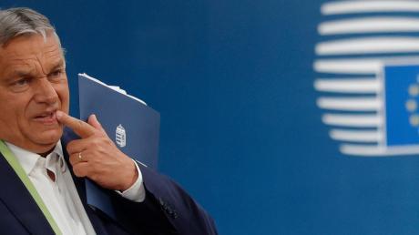 Steht er noch auf dem Boden der europäischen Werte? Ungarns Premier Viktor Orbán gerät nun stärker unter Druck aus Brüssel.